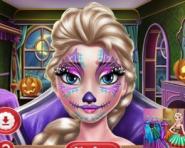Elsa'nın Yüz Makyajı