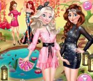 Elsa Ve Anna Sonbahar Partisinde