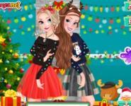 Frozen Kızları Komik Kazak Partisinde