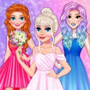 Gelin Elsa Ve Nedimeleri