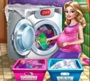 Güzel Annenin Çamaşır Günü