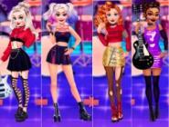 Havalı Rocker Prensesler
