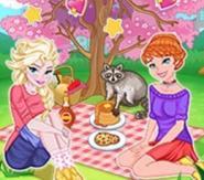 Kız Kardeşler Piknikte