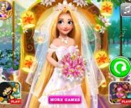 Prenses Rapunzel Gelin Oluyor