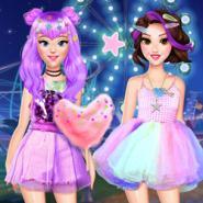 Prensesler Eğlence Parkında