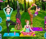 Prensesler İle Yoga
