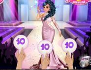 Prensesler Moda Yarışmasında