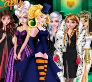 Prensesler İle Cadılar Bayramı