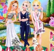 Prensesler Ve Sevimli Dostlar