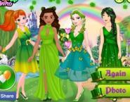Prensesler Yeşil Bahar Güzelleri