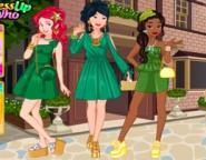 Prensesler Yeşiller Takımı