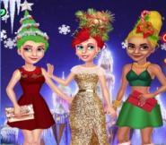 Prenseslerin Yılbaşı Ağacı Saçları