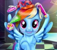Rainbow Dash'in Çılgın Saçları
