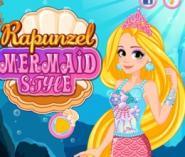 Rapunzel Güzel Deniz Kızı