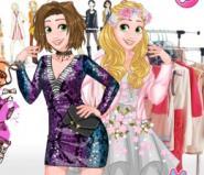 Rapunzel'in Modern Giysileri