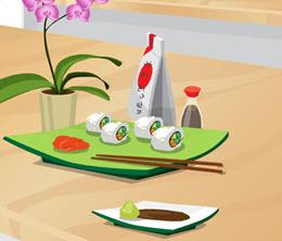 Sebzeli Suşi