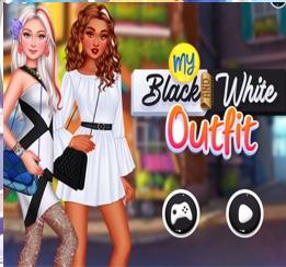 Siyah Beyaz Şıklık