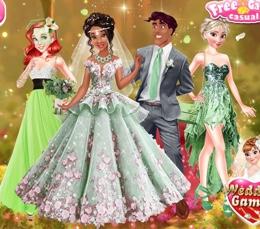 Tiana'nın Yeşil Bahar Düğünü