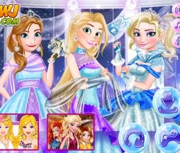 Üç Prenses Kış Balosunda